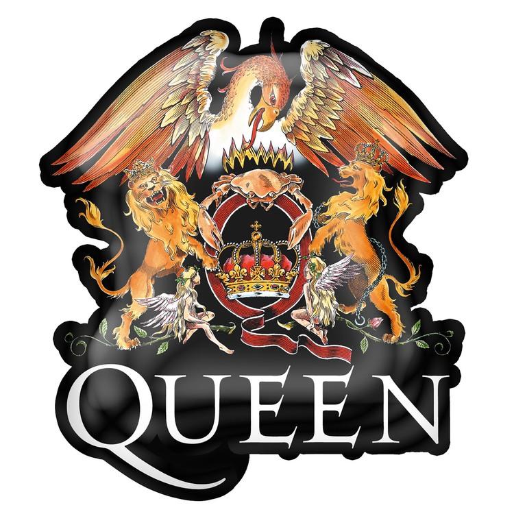 Queen 'Crest' Metal Pin