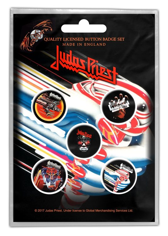 Judas priest badge 5-pack