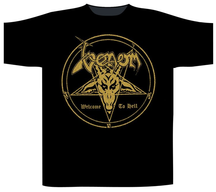 Venom 'Welcome To Hell' T-Shirt