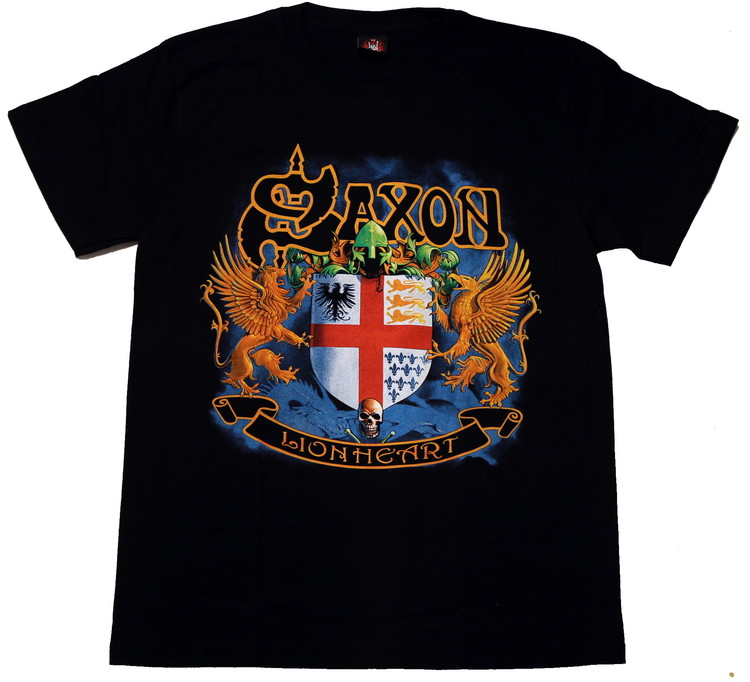 Saxon Lion heart T-shirt