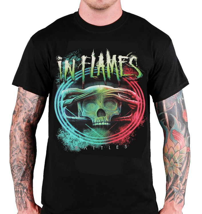 In flames Battles T-shirt