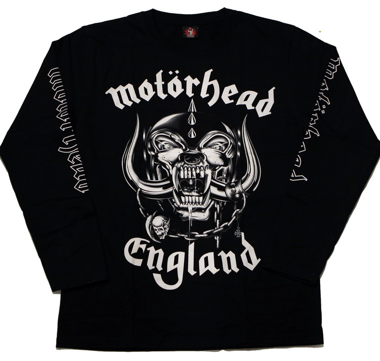 Motörhead England Long sleeve T-shirt