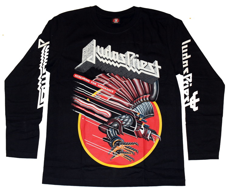 Judas priest Screaming for vengance Long sleeve T-shirt