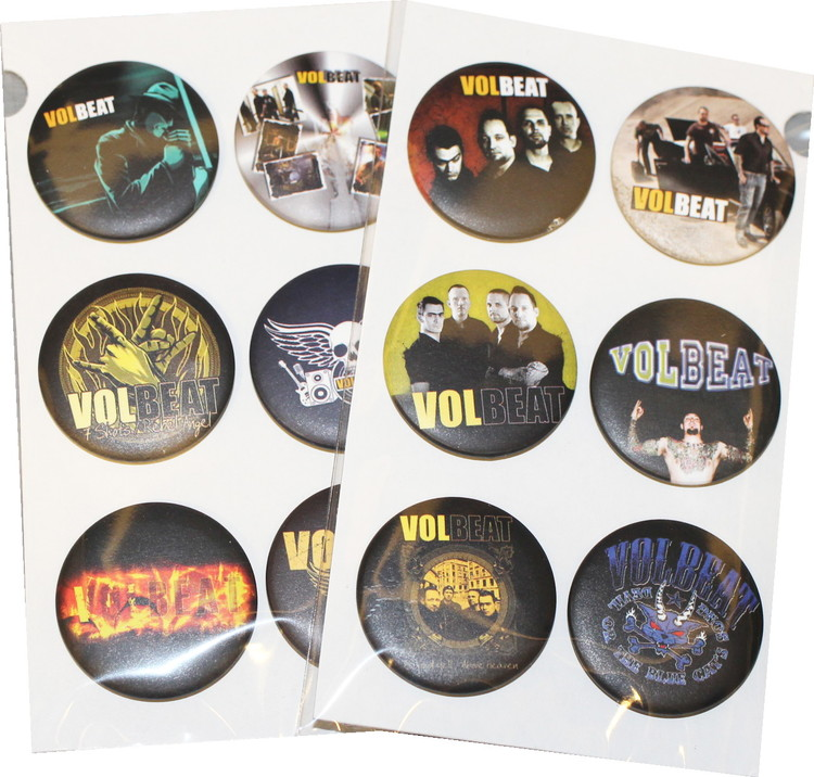 Volbeat 6-pack badge