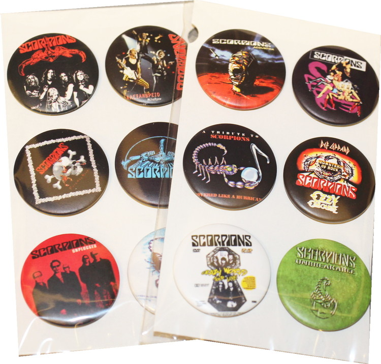 Scorpions 6-pack badge