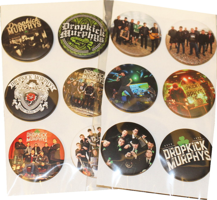 Dropkick murphys 6-pack badge