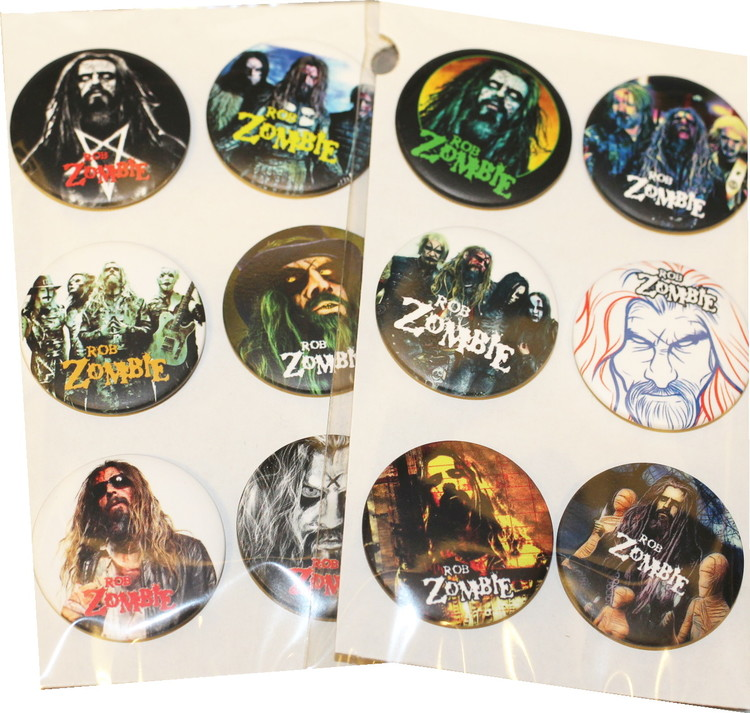 Rob Zombie 6-pack badge