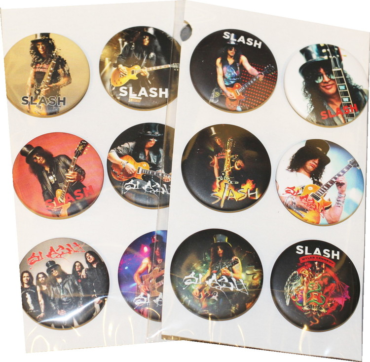 Slash 6-pack badge