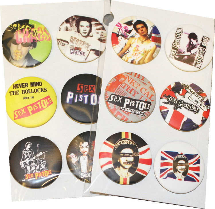 Sex pistols 6-pack badge
