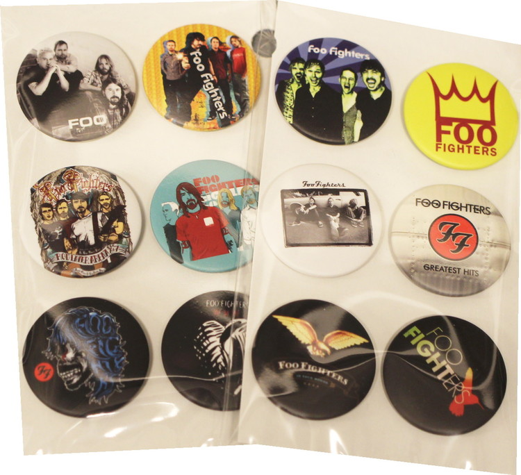 Foo fighters 6-pack badge
