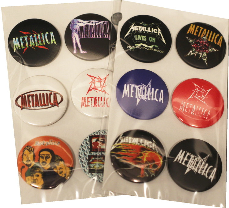 Metallica 6-pack badge