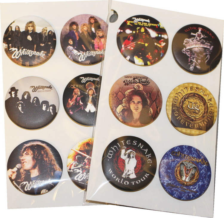 Whitesnake 6-pack badge