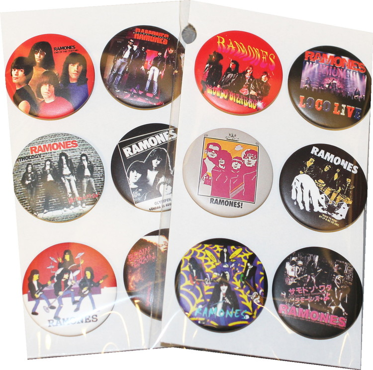 Ramones 6-pack badge