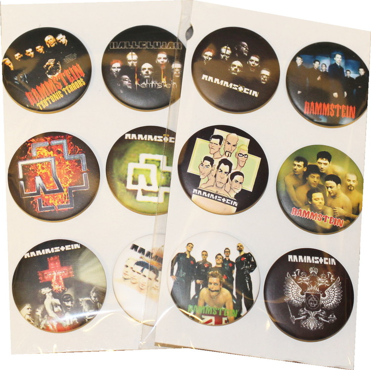 Rammstein 6-pack badge