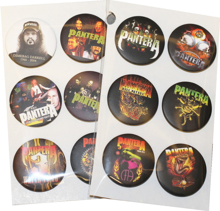 Pantera 6-pack badge