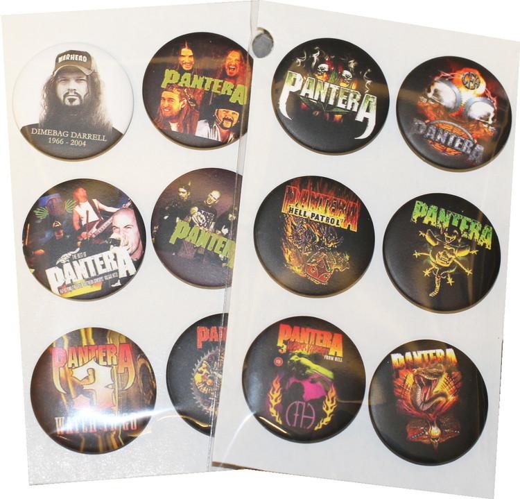Pantera 6-pack badge