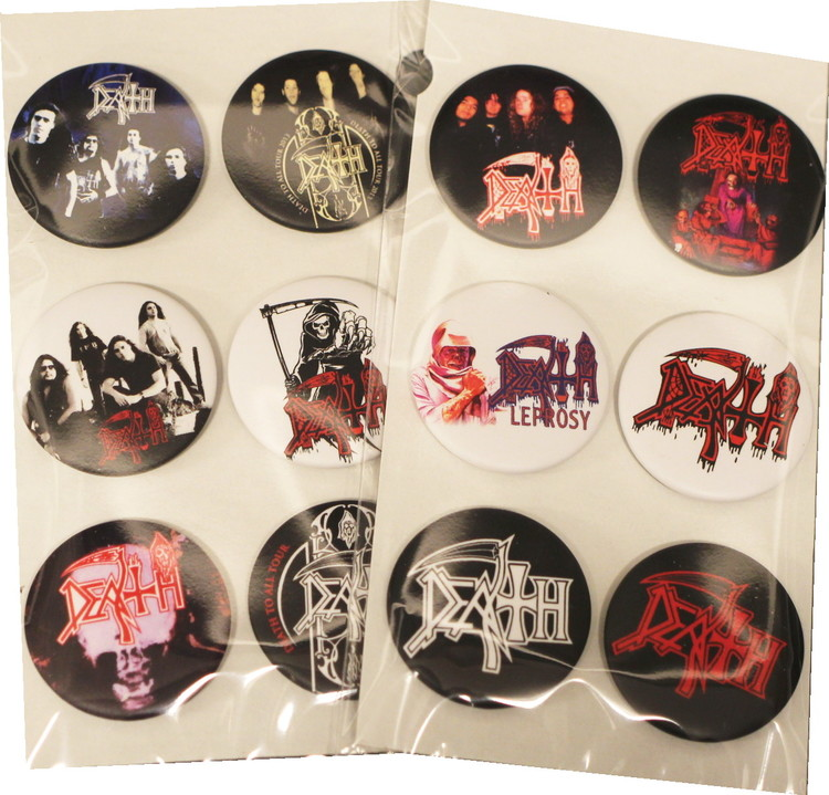 Death 6-pack badge