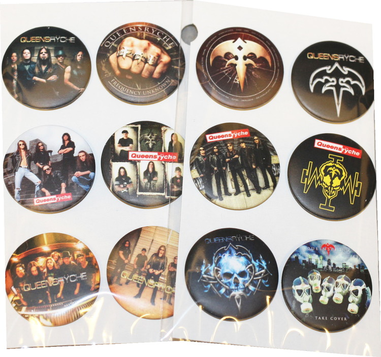 Queensryche 6-pack badge