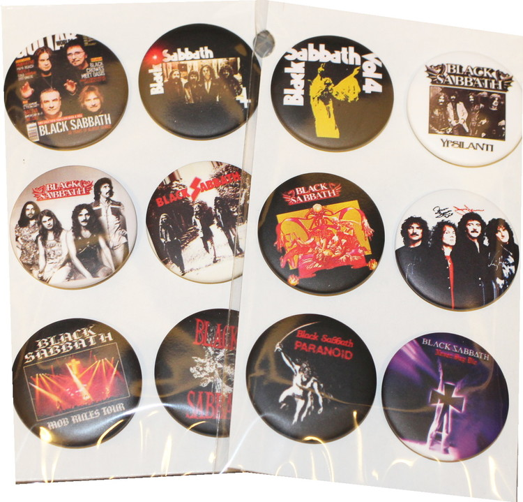 Black Sabbath 6-pack badge