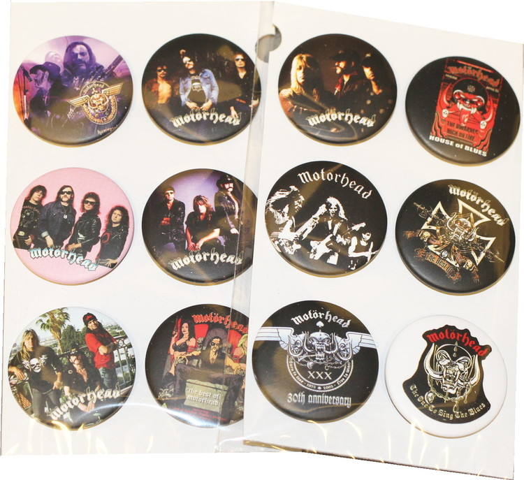 Motörhead 6-pack badge