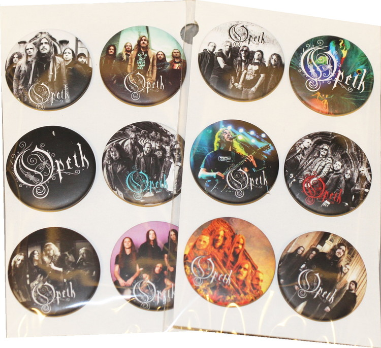 Opeth 6-pack badge