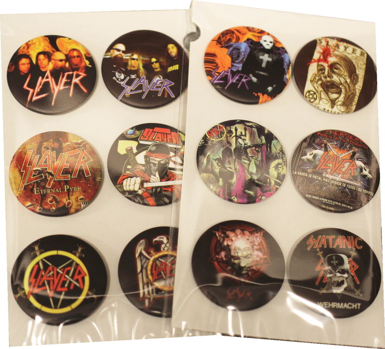 Slayer 6-pack badge