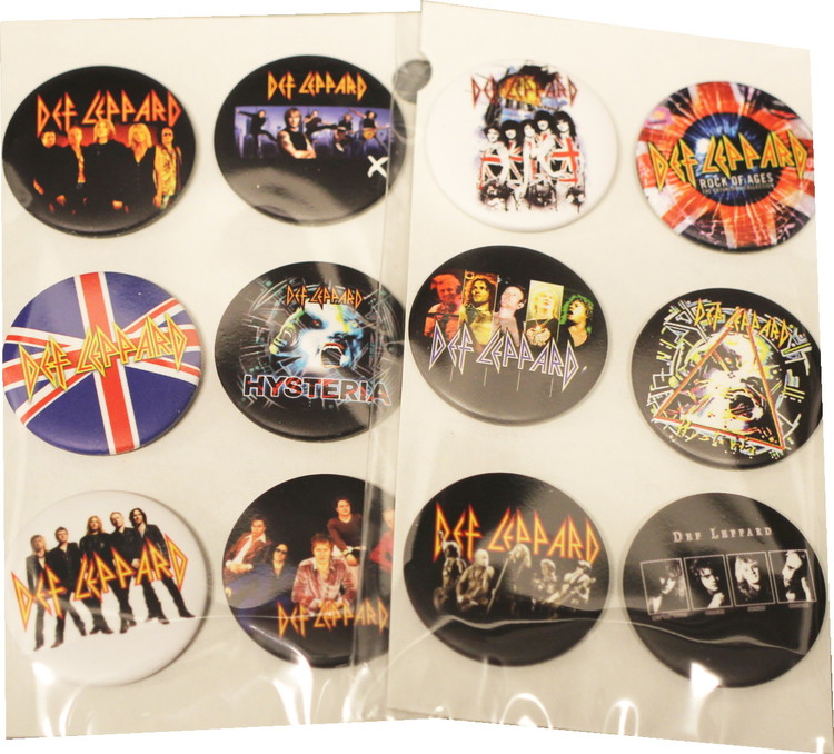 Def leppard 6-pack badge