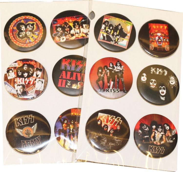 Kiss 6-pack badge