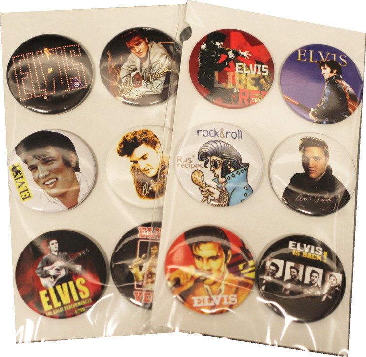 Elvis Presley 6-pack badge