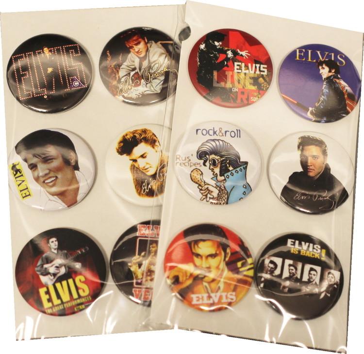 Elvis Presley 6-pack badge