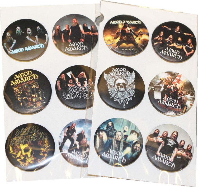 Amon amarth 6-pack badge