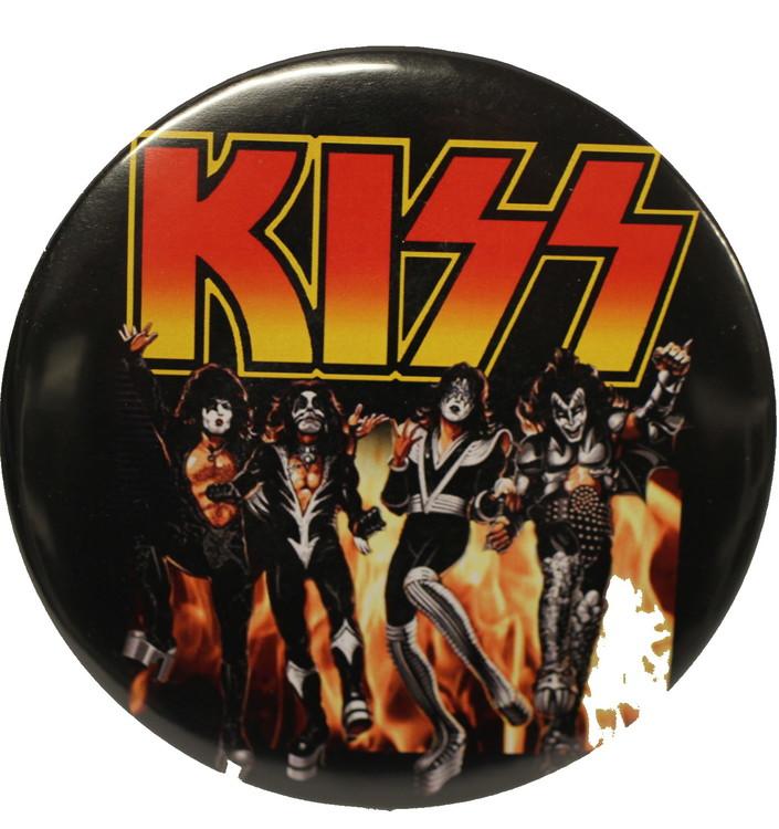 Kiss destroyer XL badge