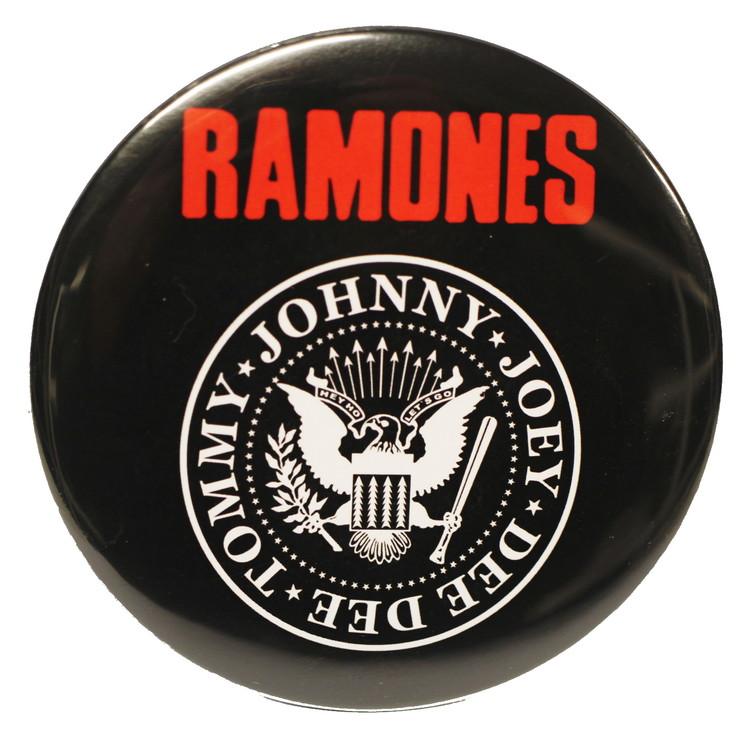 Ramones logo XL badge