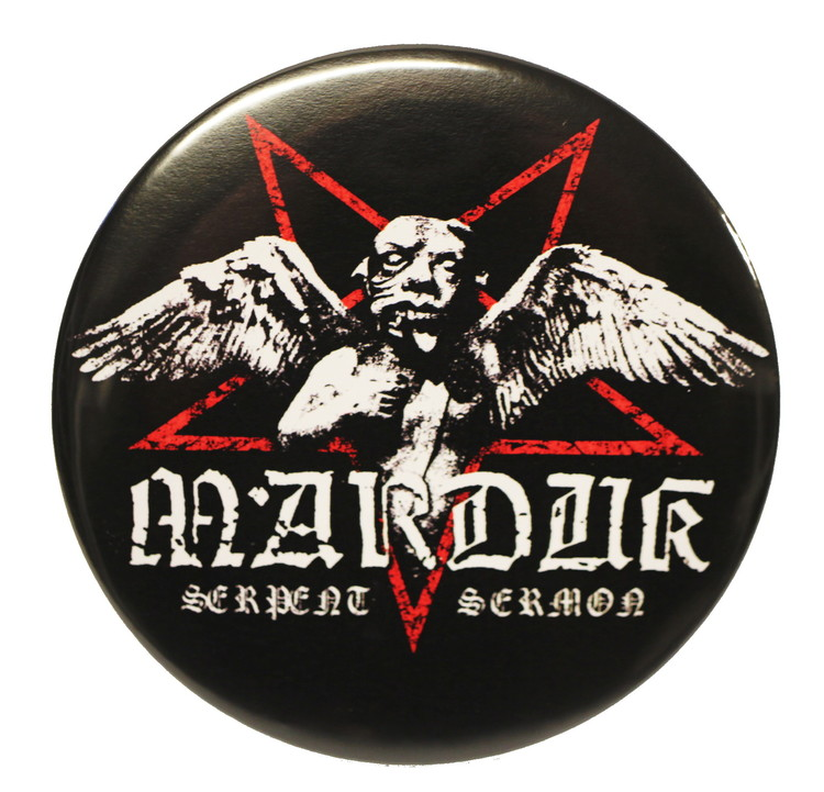 Marduk serpent demon XL badge 1