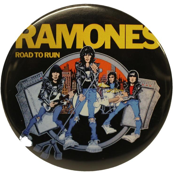Ramones road to ruin XL badge