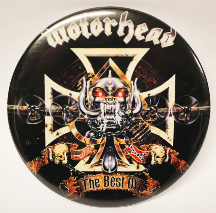 Motörhead best of... XL badge