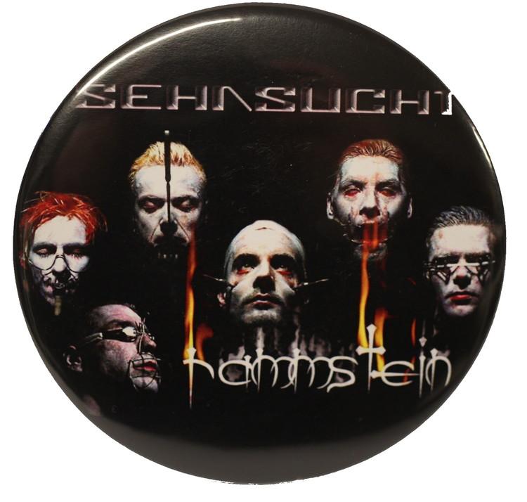 Rammstein sehnsucht faces XL badge 2