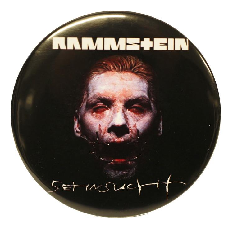 Rammstein sehnsucht XL badge 2