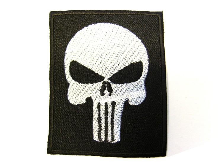 Punisher black fyrkantig