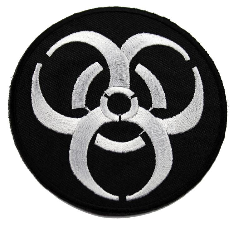 Biohazard svart/vit