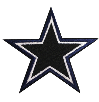 Black/blue star