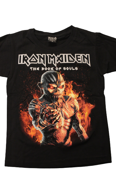 Iron maiden The book of souls Barn t-shirt