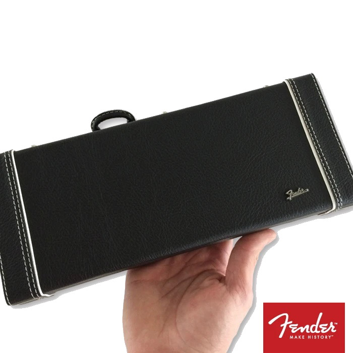 FENDER™ Miniature Black Guitar Case with Diecast Logo