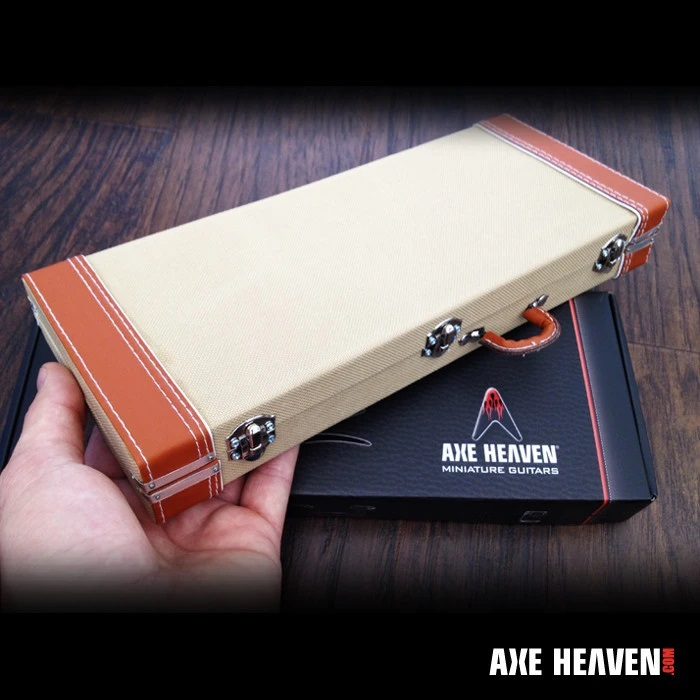 AXE HEAVEN® Miniature Vintage Tweed Style Guitar Case