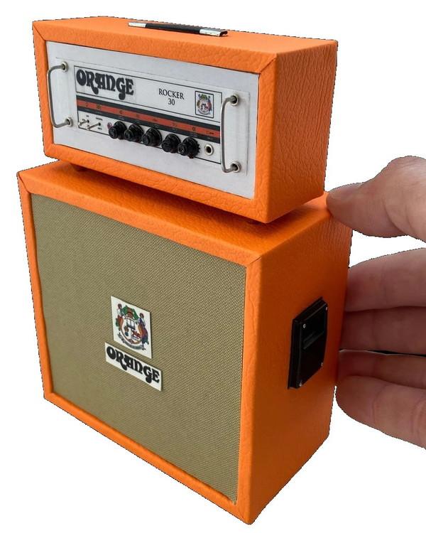 Miniature Orange ROCKER 30 Stack Amp Model