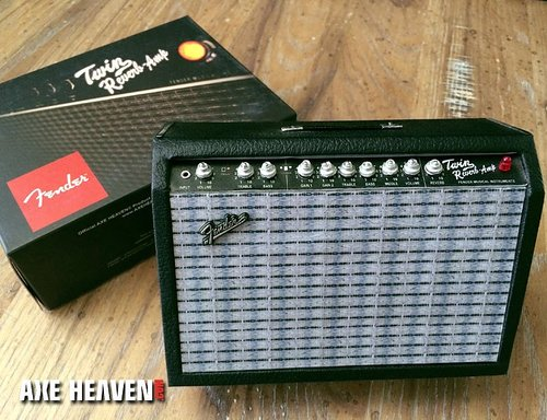 Miniature Fender Twin-Reverb Ornamental Amp Model