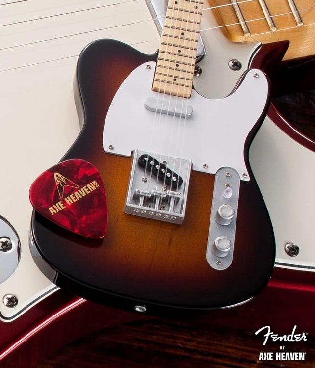 Fender™ Sunburst Telecaster™ Classic Miniature Guitar Replica