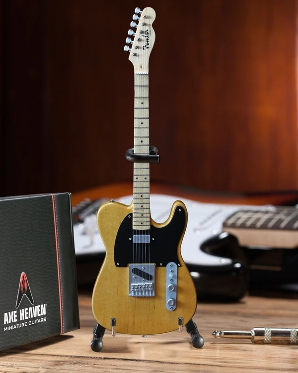 Fender™ Telecaster™ Guitar Replica Miniature Butterscotch Blonde
