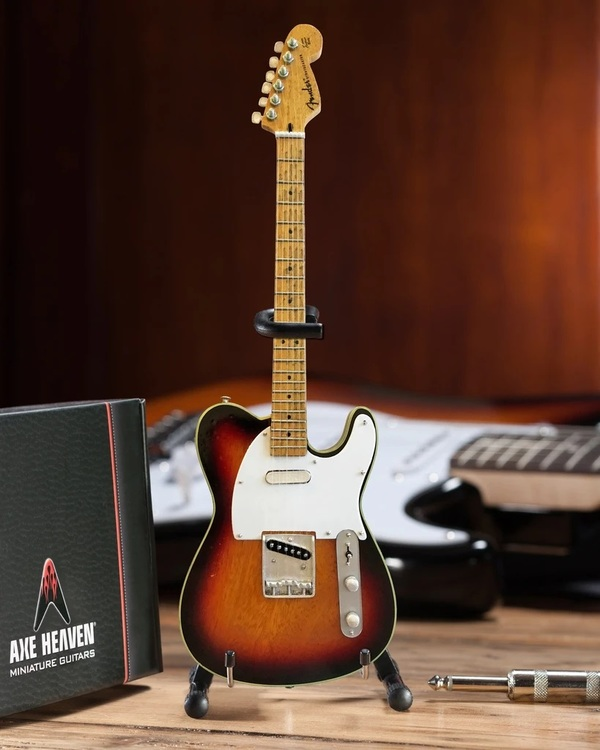 Blind Faith Signature Vintage Fender™ Telecaster® Miniature Guitar Replica - Sunburst