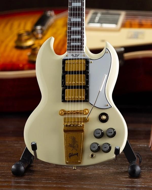 Gibson 1964 SG Custom White Mini Guitar Model
